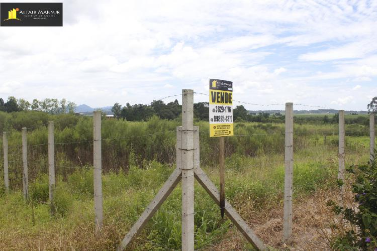 Terreno/lote à venda no tabatinga - tijucas do sul, pr.
