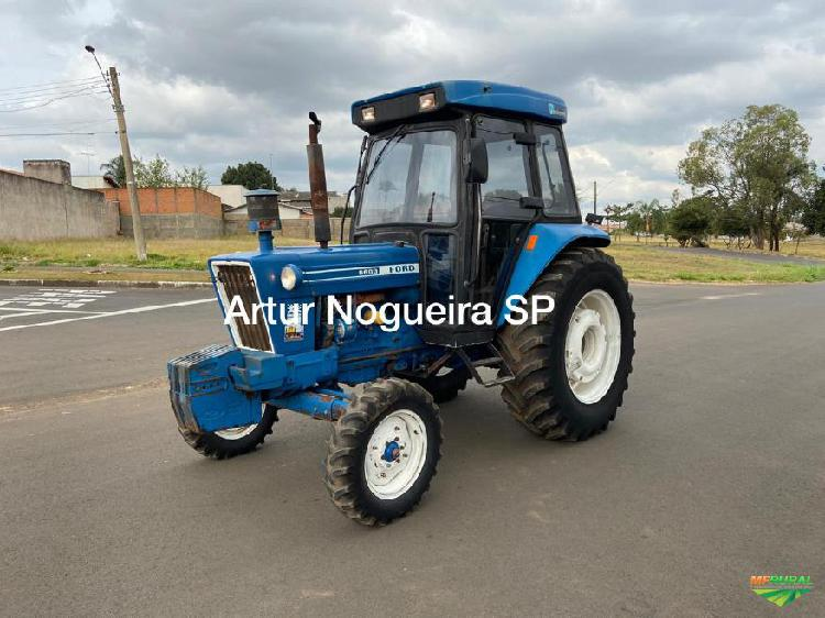 Trator ford 6600 4x2 ano 84