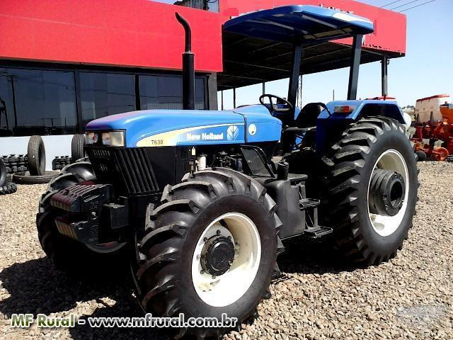 Trator Ford/New Holland 8830 4x4 ano 99. PARCELA EM 120M S/