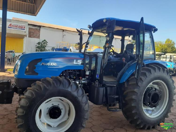 Trator ls tractor plus 100c 4x4 ano 20