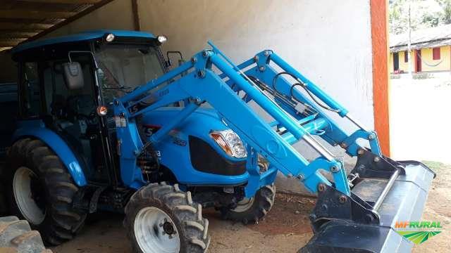Trator ls tractor u60c 4x4 ano 17