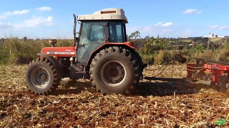 Trator massey ferguson 292 advanced 4x4 ano 05