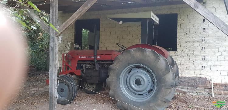 Trator massey ferguson 65 x 4x2 ano 62
