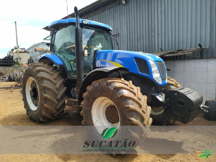 Trator new holland t 7060 4x4 ano 13