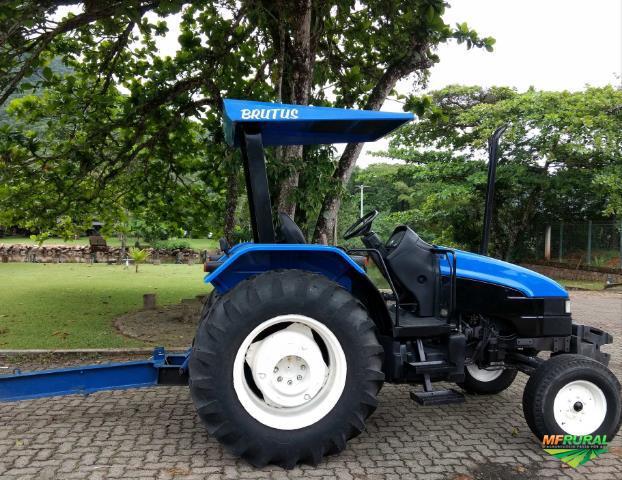 Trator new holland tl 65 f 4x2 ano 01