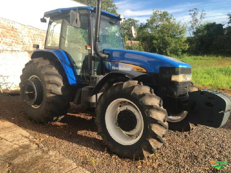Trator new holland tm 165 4x4 ano 08