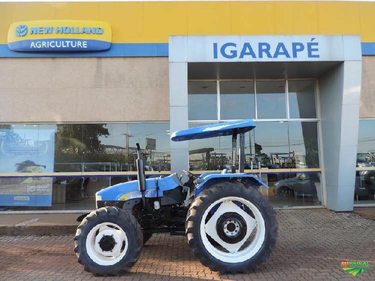 Trator new holland tt 3840 4x4 ano 10