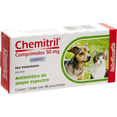 Antibiótico Chemitec Chemitril 50 mg Enrofloxacina para