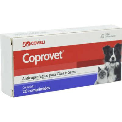 Anticoprofágico coveli coprovet para cães e gatos - 20