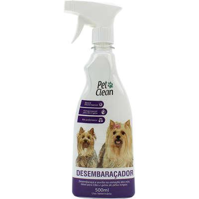 Desembaraçador pet clean de pelos para cães e gatos - 500