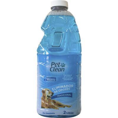 Eliminador de Odores Pet Clean Tradicional - 2 Litros