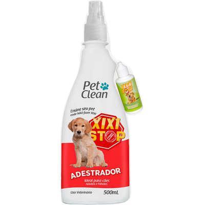 Kit pet clean xixi stop + xixi aqui para cães - kit