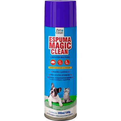 Limpador multiuso pet clean espuma mágica clean