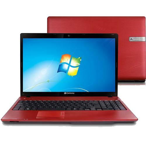 Notebook acer gateway nv55c02b - vermelho - intel core