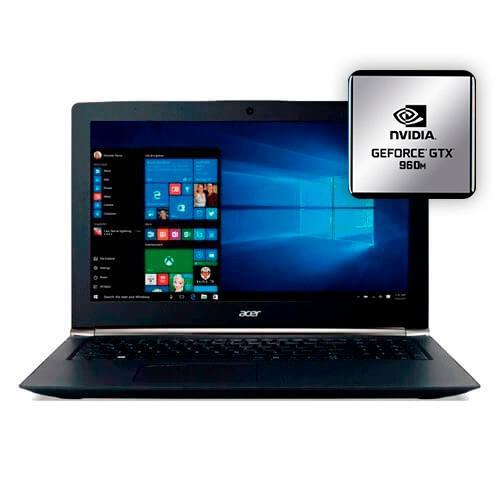 Notebook acer vn7-592g-734z - intel core i7-6700hq - ram