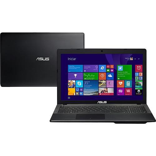 Notebook asus x552ea-sx188h - preto - amd quad core e2-3800