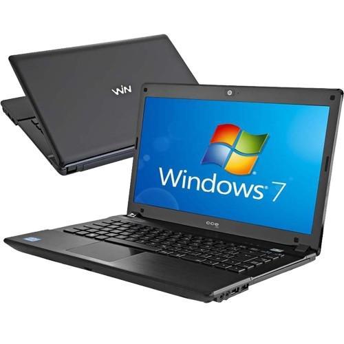 Notebook cce win e35l+ - preto - intel core i3-330m - ram