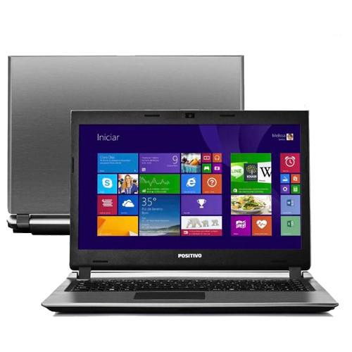 Notebook positivo premium s6100 - cinza - intel core