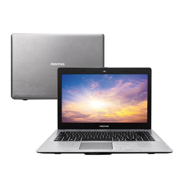 Notebook positivo premium xri7150 - cinza - intel core