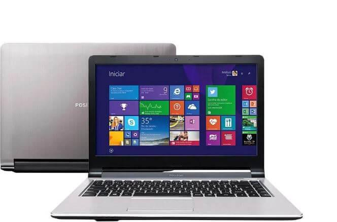 Notebook positivo premium xs8330 - prata - intel core