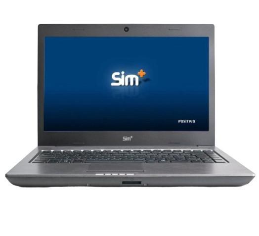 Notebook positivo sim 5660m - cinza - intel core i7-2620m -