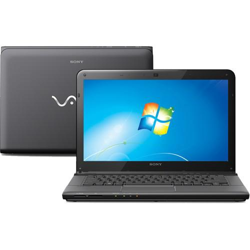Notebook sony vaio sve14113ebb - preto - intel core i3-2370m