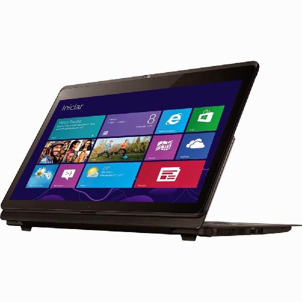 Notebook sony vaio svf14n15cbb - preto - intel core i5-4200u