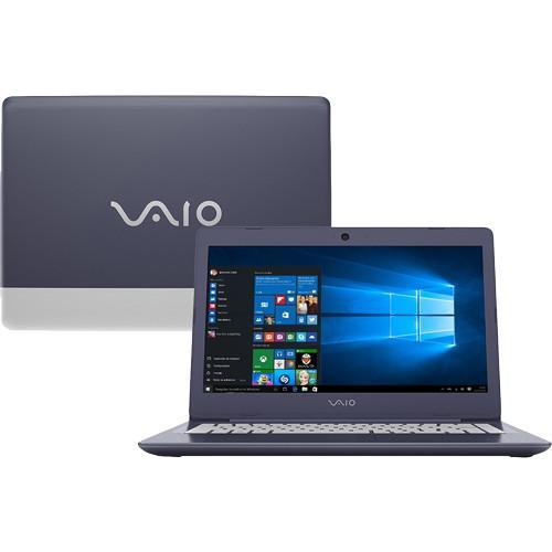 Notebook sony vaio vjc142f11x - preto - intel core i7-7500u