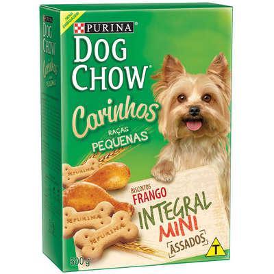 Petisco nestlé purina dog chow carinhos integral mini