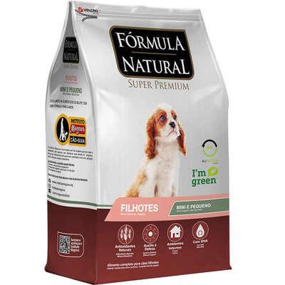 Ração fórmula natural super premium para cães filhotes