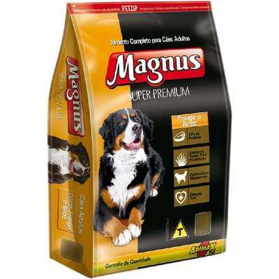 Ração magnus super premium para cães adultos
