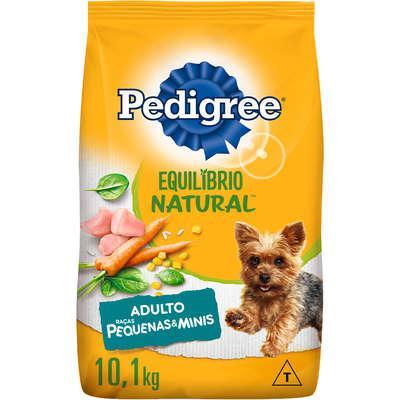 Ração pedigree equilíbrio natural para cães adultos de