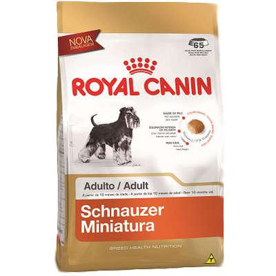 Ração royal canin miniature para cães adultos da raça