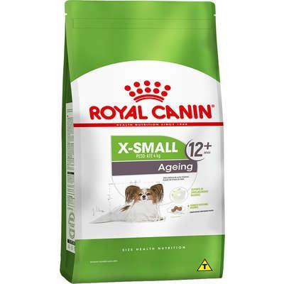 Ração royal canin x-small ageing 12+ para cães adultos e
