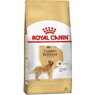 Ração royal canin para cães adultos da raça golden