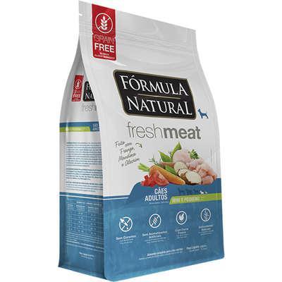 Ração seca fórmula natural fresh meat cães adultos