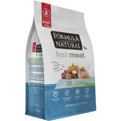 Ração seca fórmula natural fresh meat cães light raças