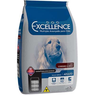 Ração selecta dog excellence cães adultos raças médias