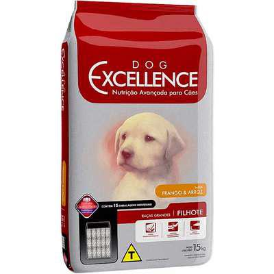 Ração selecta dog excellence cães filhote raças grandes