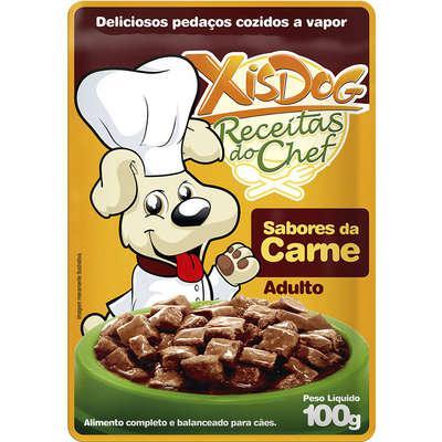 Ração úmida xisdog receitas do chef adulto sabores da