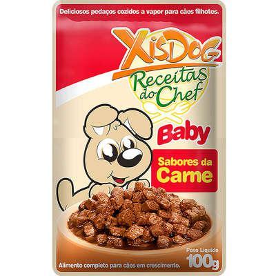 Ração úmida xisdog sachê receitas do chef baby sabores