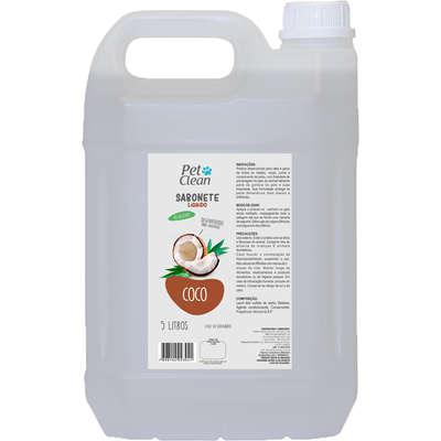 Sabonete líquido pet clean coco para cães e gatos