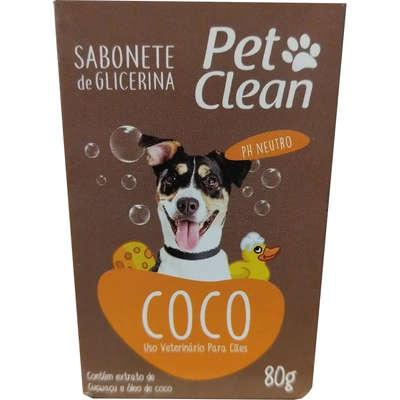 Sabonete pet clean coco - 80 g