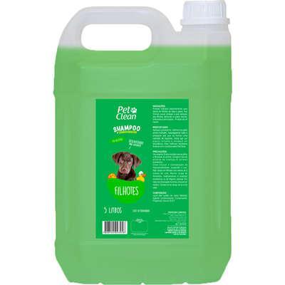 Shampoo filhotes pet clean para cães e gatos