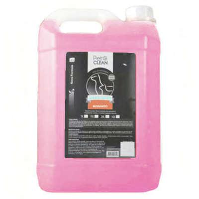Shampoo morango pet clean para cães e gatos