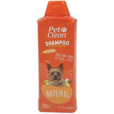 Shampoo e condicionador pet clean 2 em 1 - 700 ml
