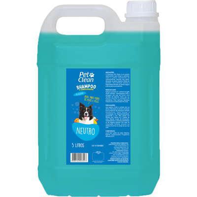 Shampoo e condicionador pet clean neutro para cães - 5