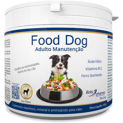Suplemento vitamínico botupharma pet food dog adulto