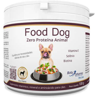 Suplemento vitamínico botupharma pet food dog zero