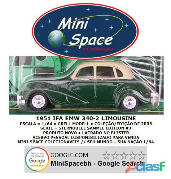Grell Modell 1951 IFA EMW 340 2 cor verde 1/64 2